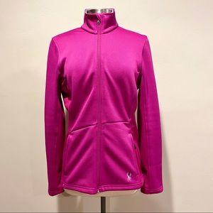 Spyder pink full zipper